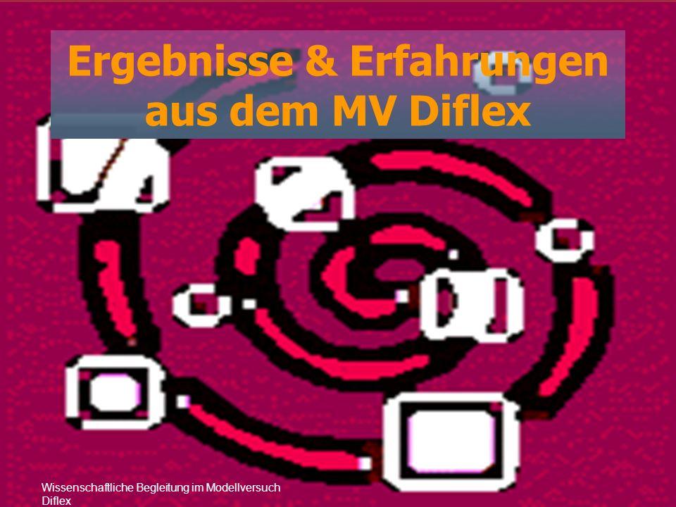 Wissenschaftliche Begleitung im Modellversuch Diflex Ergebnisse & Erfahrungen aus dem MV Diflex