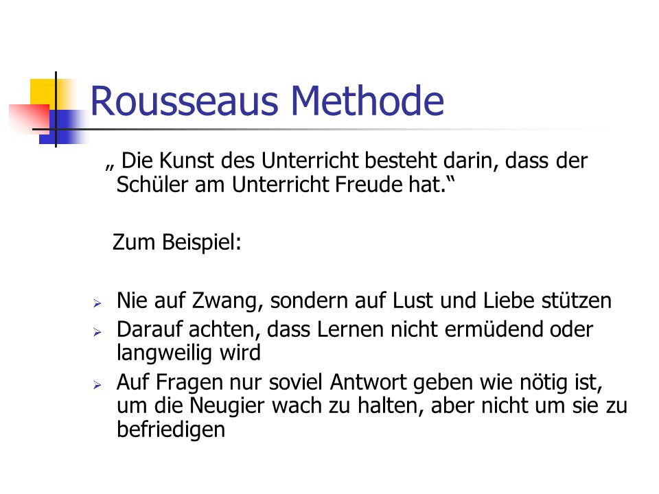 Bemerkungen zur Übersetzung von Ludwig Schmidts Dia Franzosen sehen in Emil… das pädagogische Romanwerk und schätzen es sehr. Emil sollte wieder in de