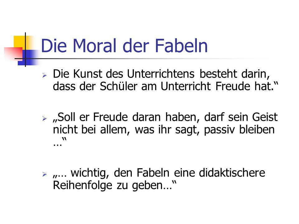Fabel Geschichte Mit Moral