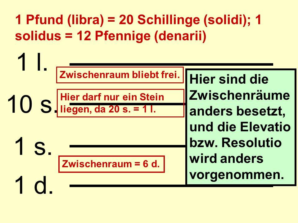 1/10 I X C Dezimalbrüche 1/100 1/1000