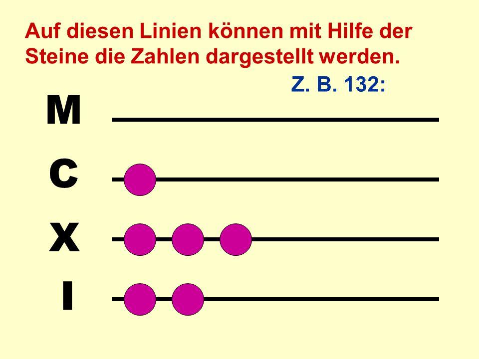 Mit dem Abakus lassen sich auch Dezimalbrüche sowie Zahlen darstellen, die nicht dem Dezimal- schmema folgen, z.B.