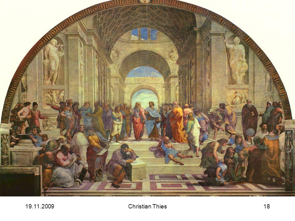 19.11.2009Christian Thies18