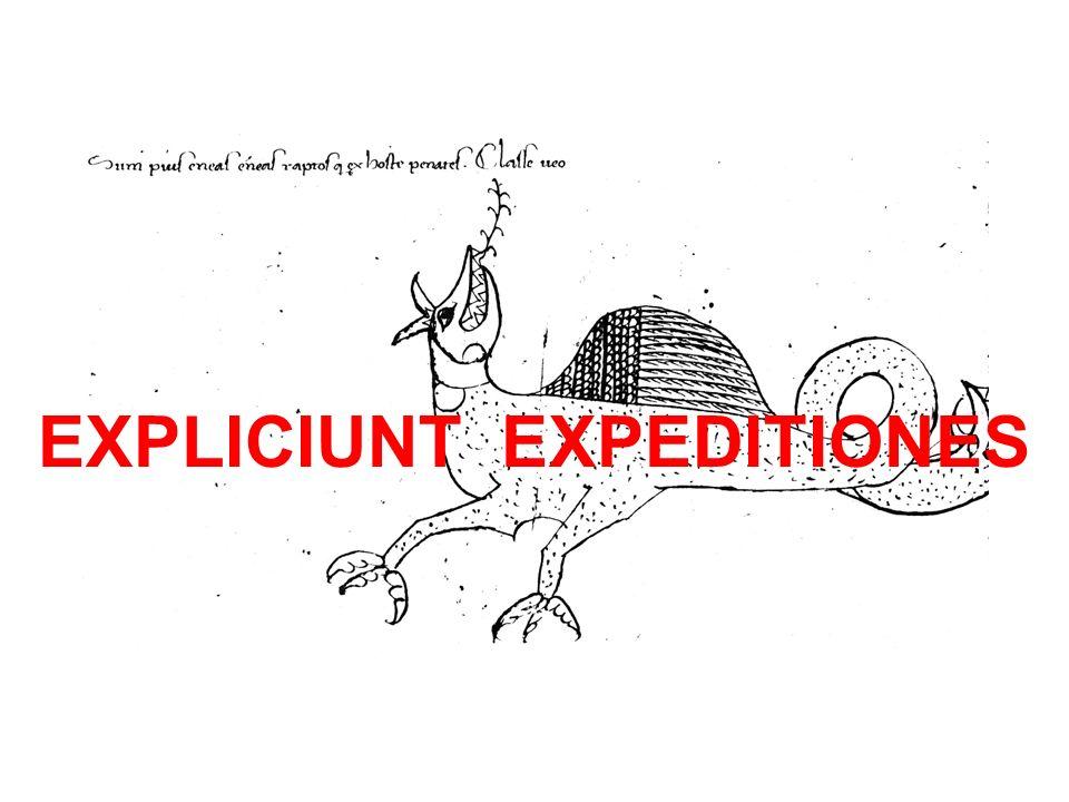 EXPLICIUNT EXPEDITIONES