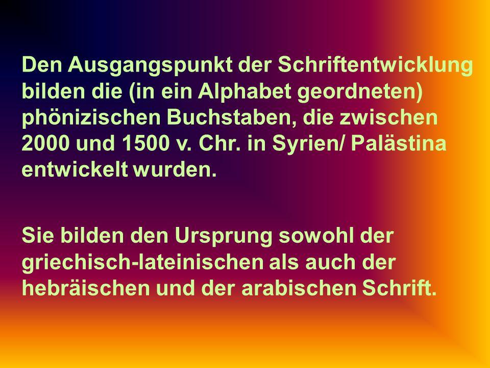 Analyse der Buchstabenformen in der Karolingischen Minuskel: Link zu Karolingische Minuskel.pptKarolingische Minuskel.ppt