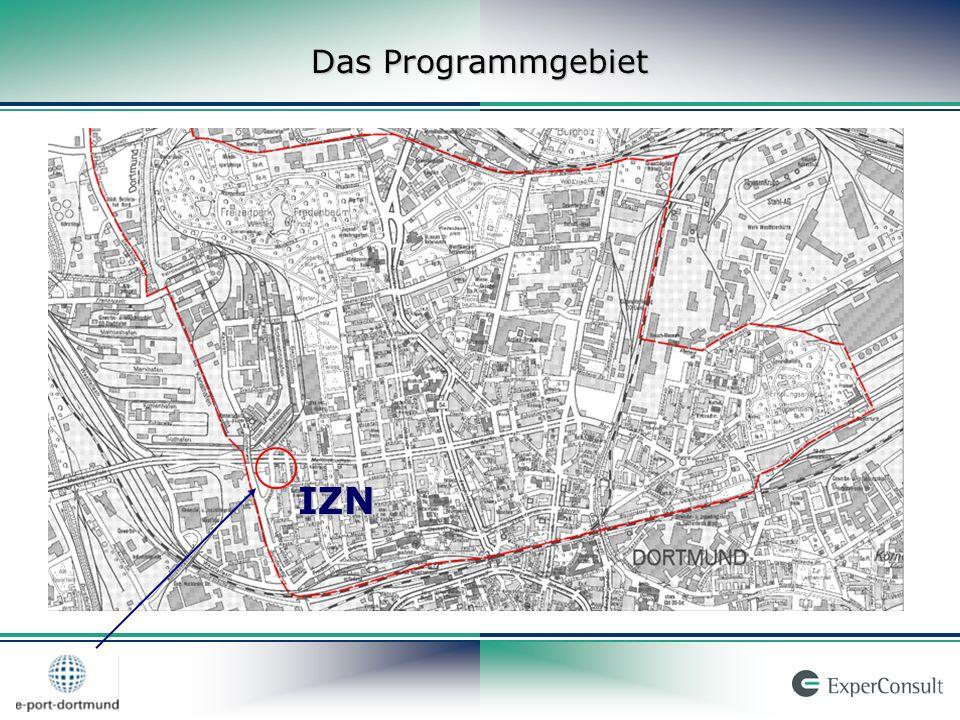 Das Programmgebiet IZN