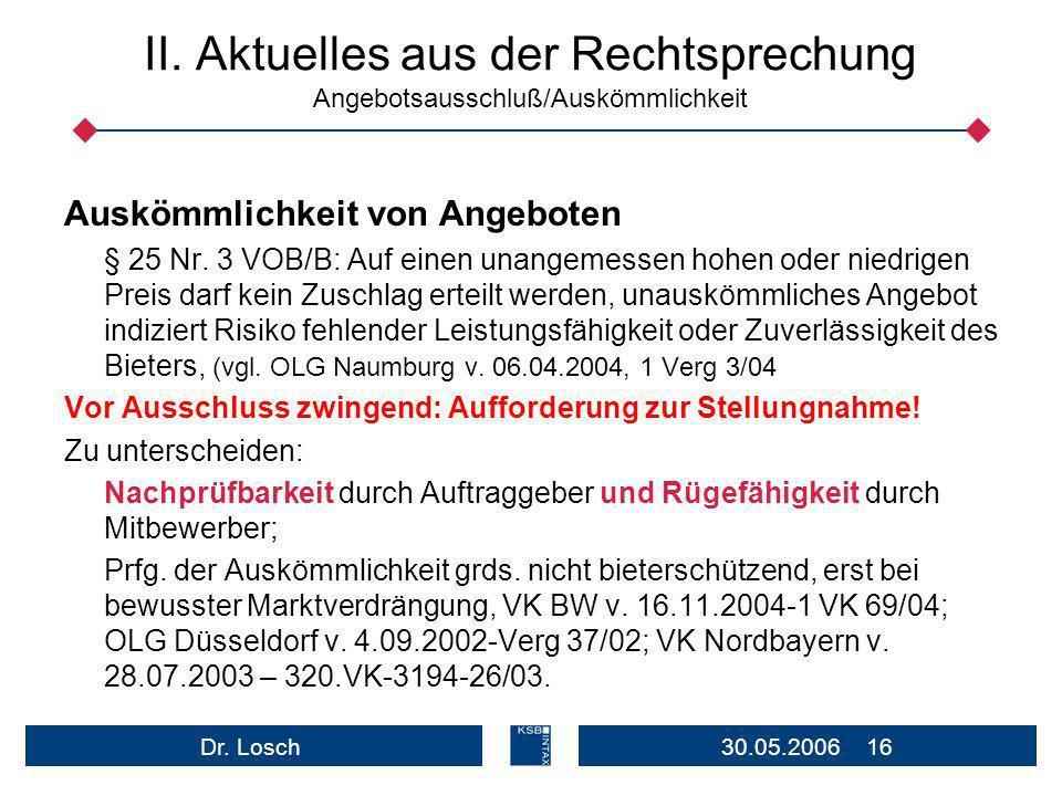 30.05.2006 16Dr.Losch II.