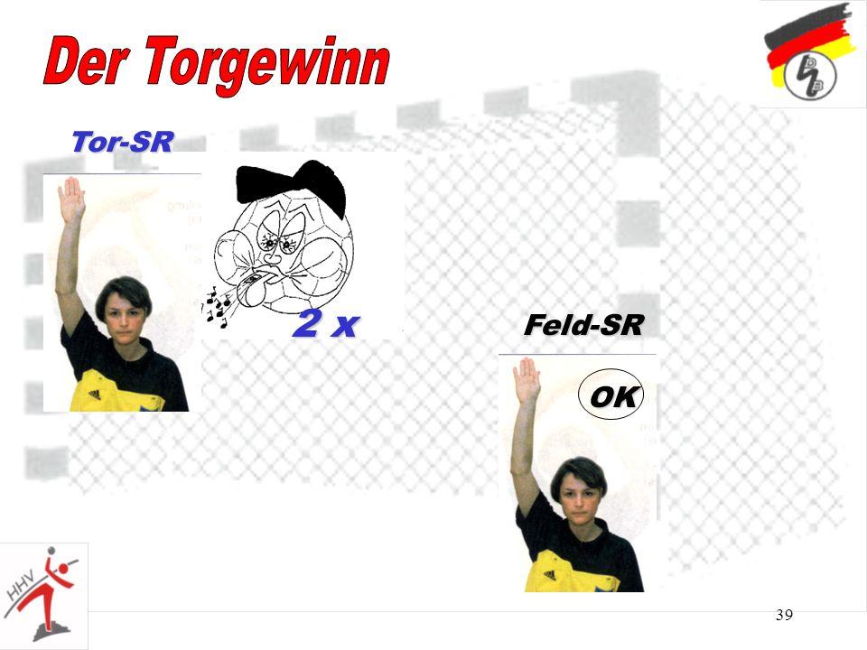 39 2 x Tor-SR Feld-SR OK