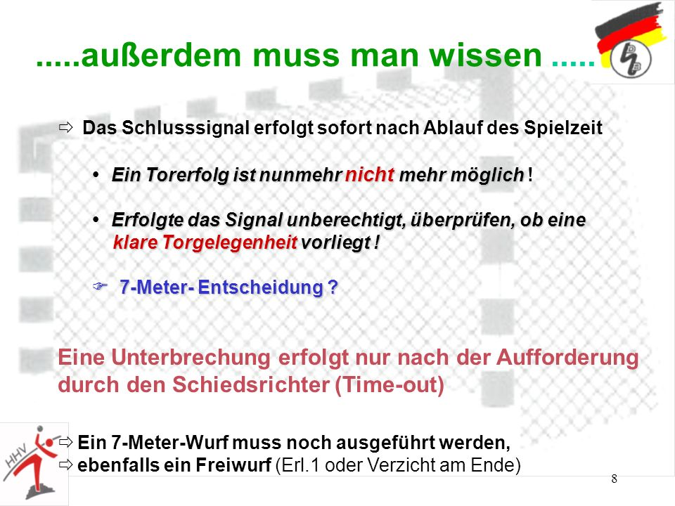 19 Spielzeitunterbrechung Time - out
