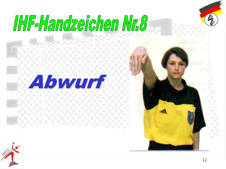 12 Abwurf