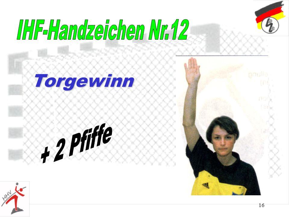 16 Torgewinn