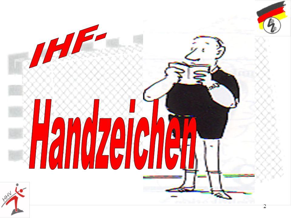 23 nur in Verbindung mit Handzeichen Nr.