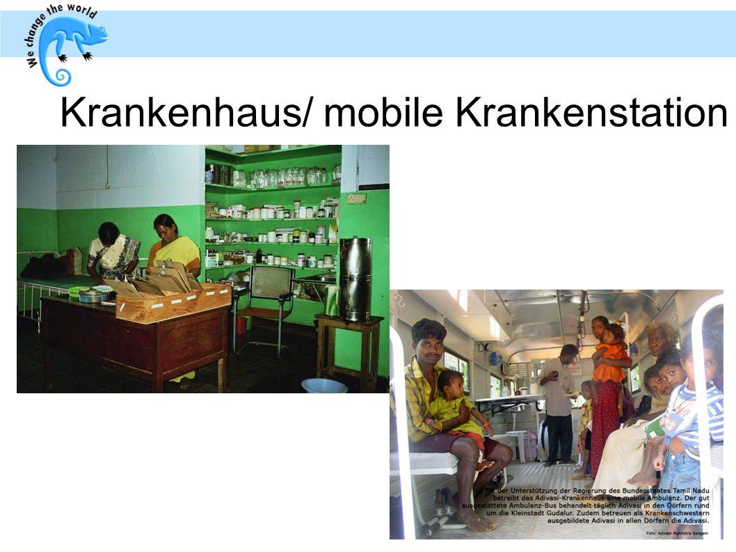Krankenhaus/ mobile Krankenstation