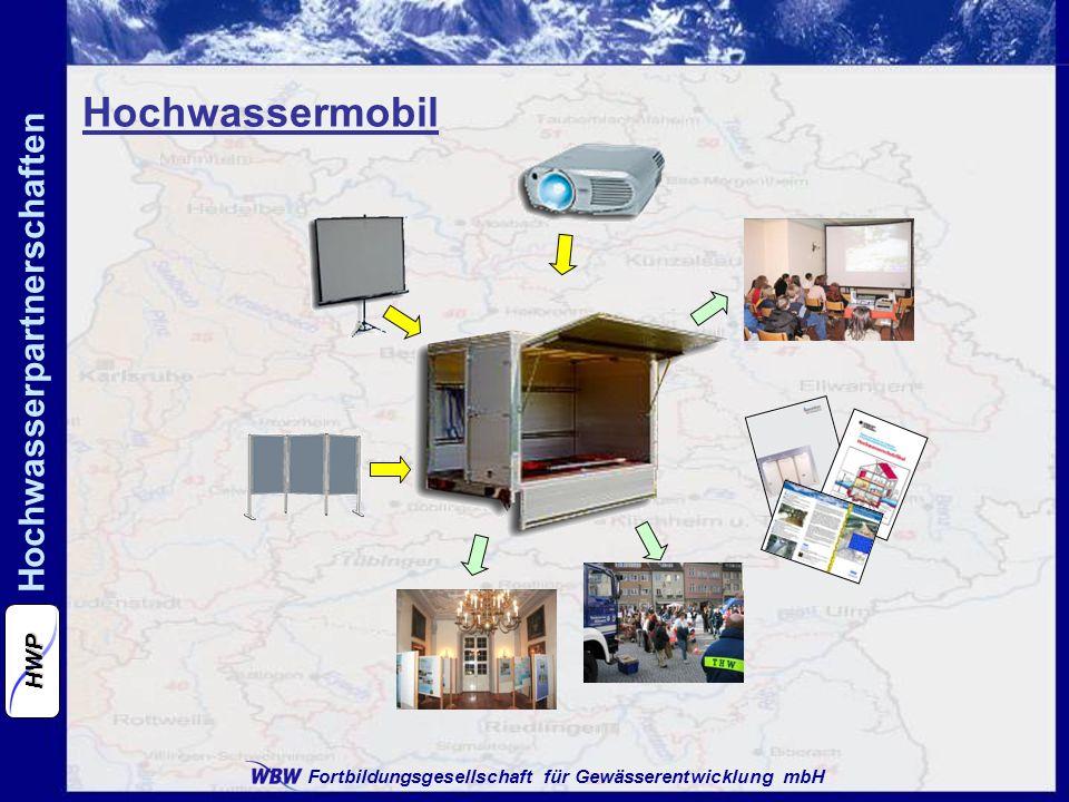 Fortbildungsgesellschaft für Gewässerentwicklung mbH Hochwasserpartnerschaften HWP Hochwassermobil