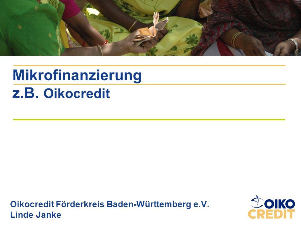 Mikrofinanzpionier: F.W.