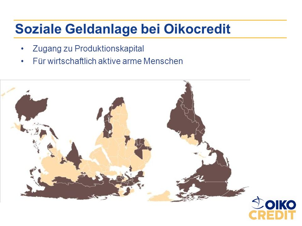 AnlegerInnen 500 Kirchen Förderkreise mit 30 000 Personen Anlagekapital 413 Mio.