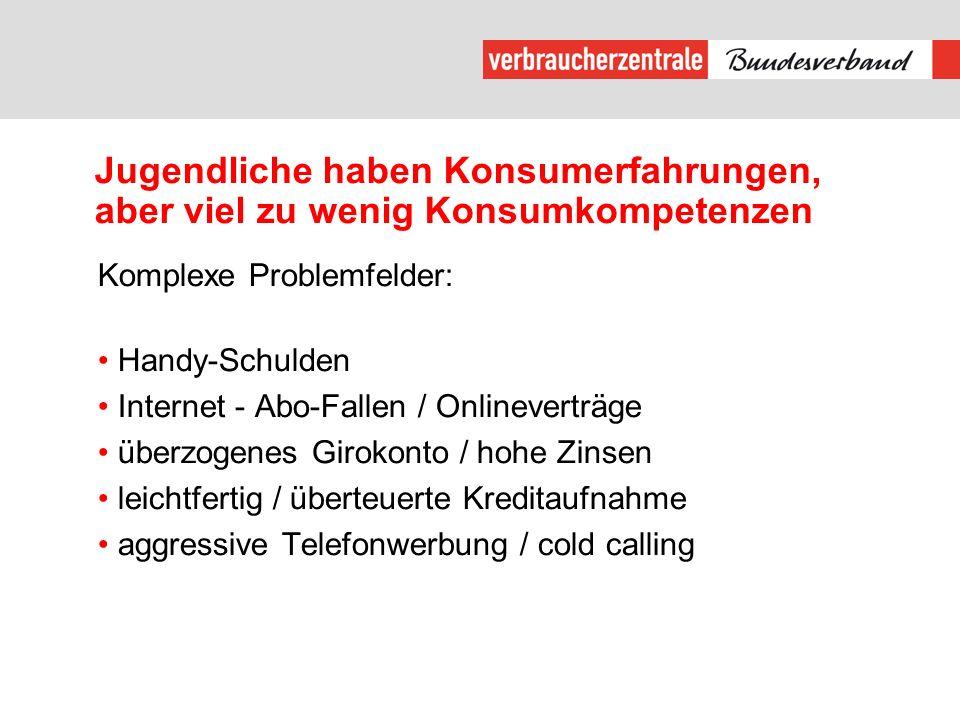 Netzwerk: Initiative Verbraucherbildung – Konsumkompetenz für alle!