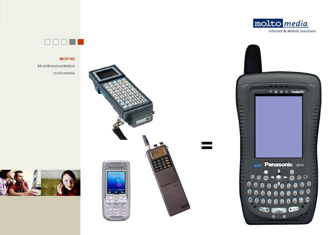 Copyright 2003 MOPAS Mobilkommunikation moltomedia =