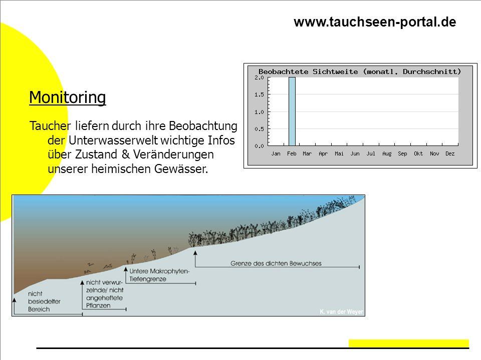 Monitoring Taucher liefern durch ihre Beobachtung der Unterwasserwelt wichtige Infos über Zustand & Veränderungen unserer heimischen Gewässer.