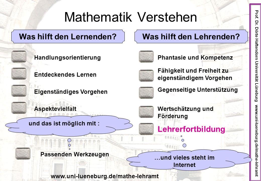 Mathematik Verstehen Prof.Dr.