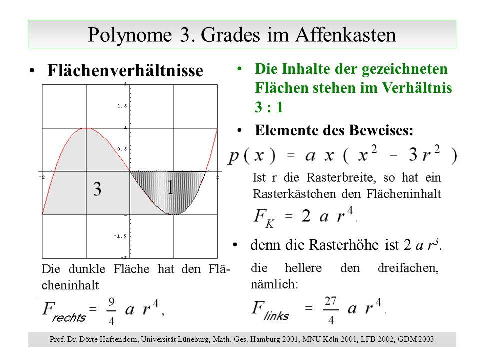 Polynome im Affenkasten Prof.Dr. Dörte Haftendorn, Universität Lüneburg, Math.