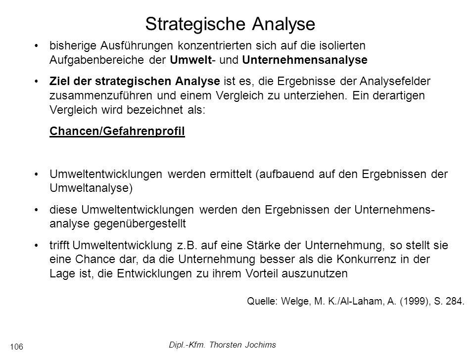 Dipl.-Kfm. Thorsten Jochims 106 Quelle: Welge, M.