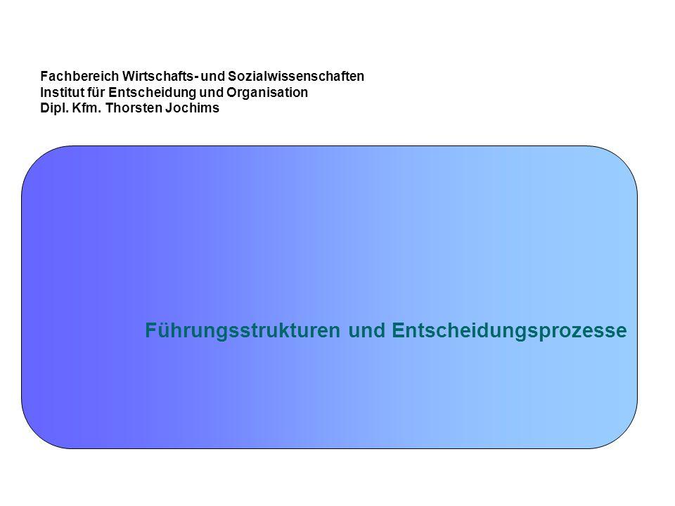 Dipl.-Kfm.Thorsten Jochims 114 Interorganisationale Beziehungen und Netzwerke 4.