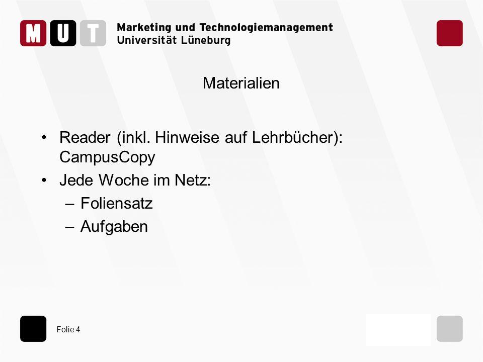 Folie 35 Neu für wen: Sichtweise Organisation –komplexe Aufgabe im Unterschied zu Routine Branche, Region –z.B.