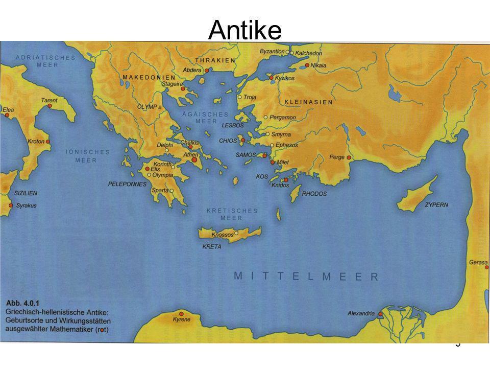 6 Biographie I Archimedes von Syrakus (griechische Kolonie auf Sizilien) Sohn des Astronomen Pheidias Gehört zur Oberschicht von Syrakus 2.