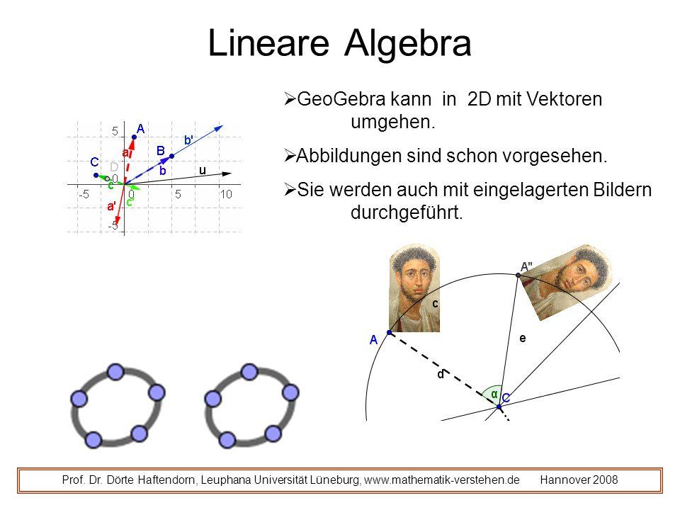 Lineare Algebra Prof.Dr.