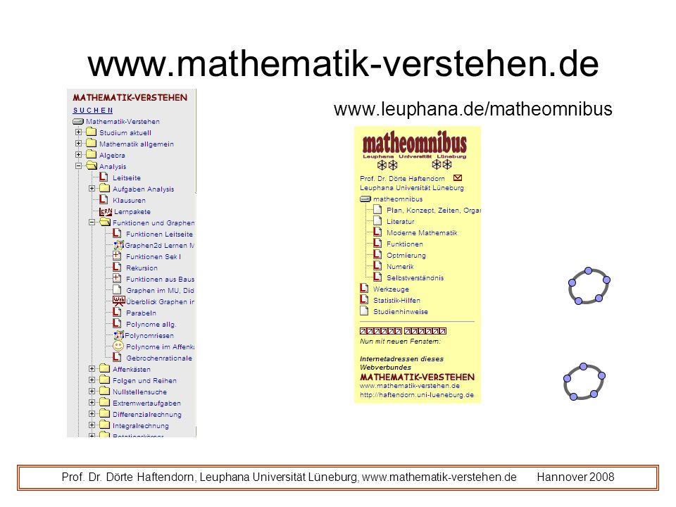 www.mathematik-verstehen.de Prof.Dr.