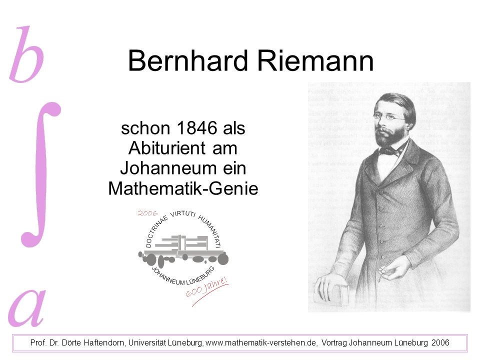 Direktor F.Constantin Schmalfuß 1806-71 Prof.Dr.
