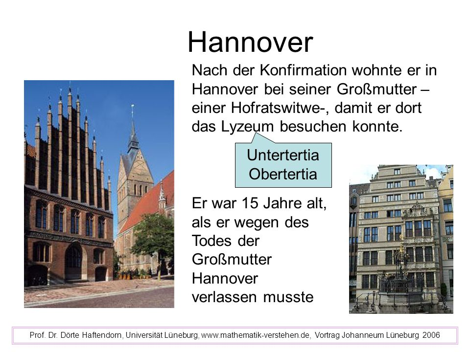 Hannover Prof.Dr.