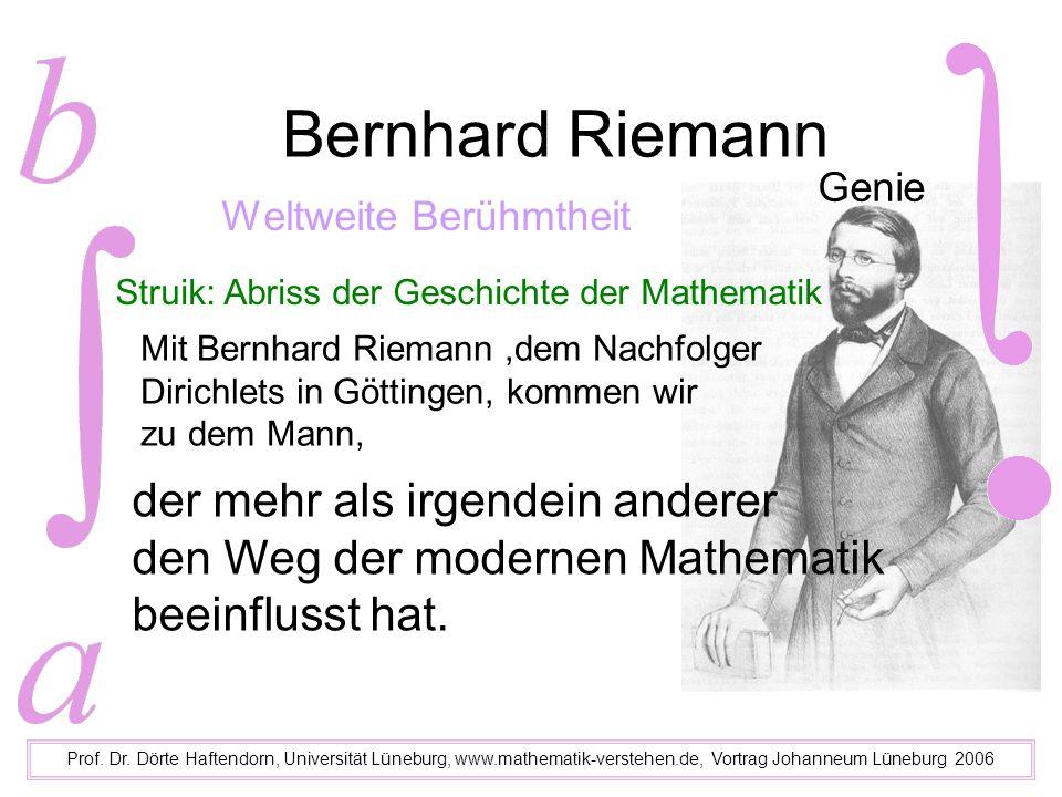 Phantasie und Riemannsche Fläche Prof.Dr.