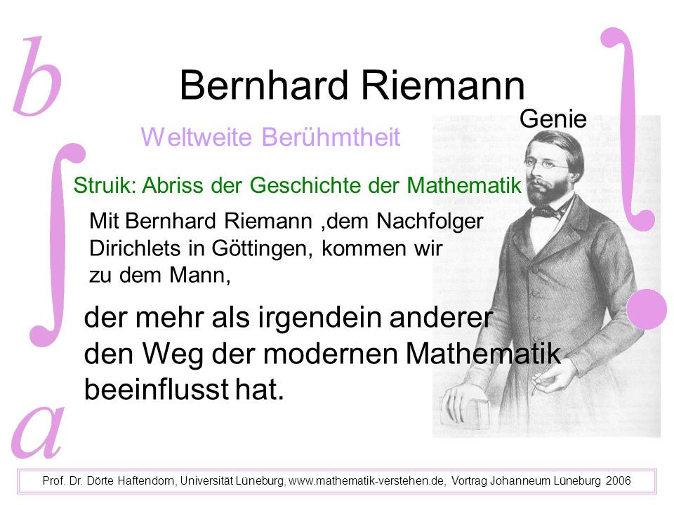 Johanneum Lüneburg Prof.Dr.
