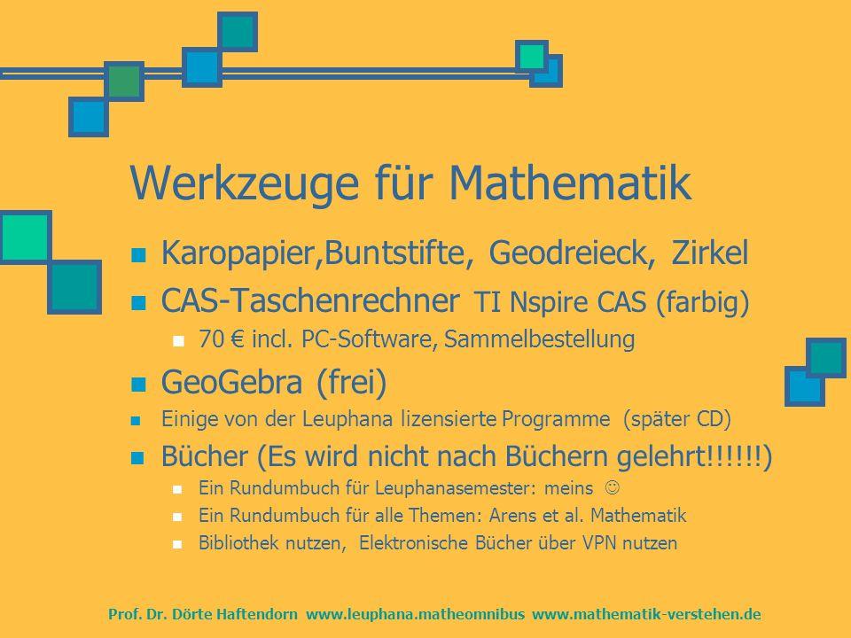 Informationen Mathematik LBS http://www.mathematik-verstehen.de Dort auch Übersichtspläne Prüfungsanforderungen und andere Hilfen Dort auch stets Fachliches und Übungen Sprechstunde, Haftendorn Di 13.15-14.15 u.a.