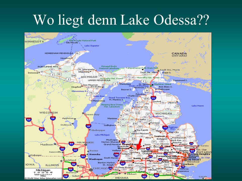Wo liegt denn Lake Odessa