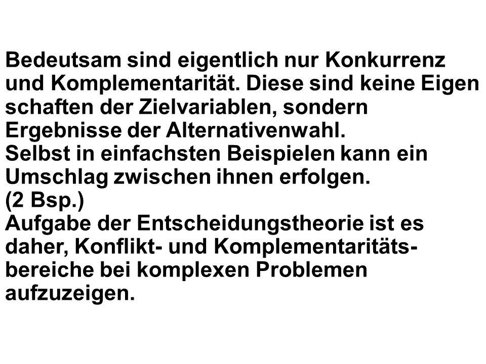 Schema der Modelle und Probleme linearnichtlinear ohne Beschr.