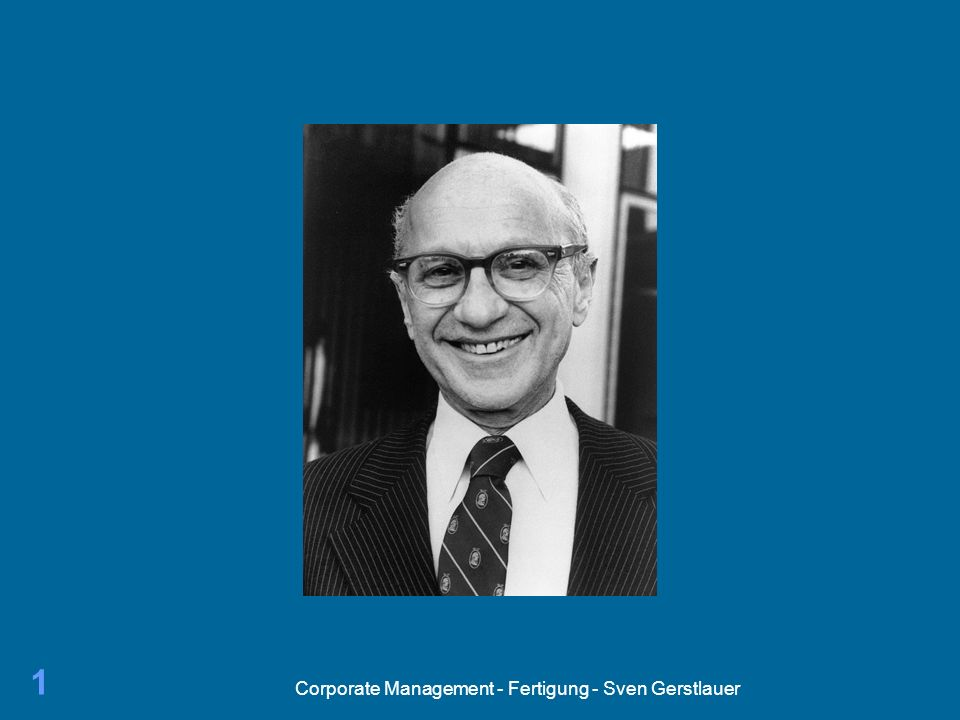 Corporate Management - Fertigung - Sven Gerstlauer 1