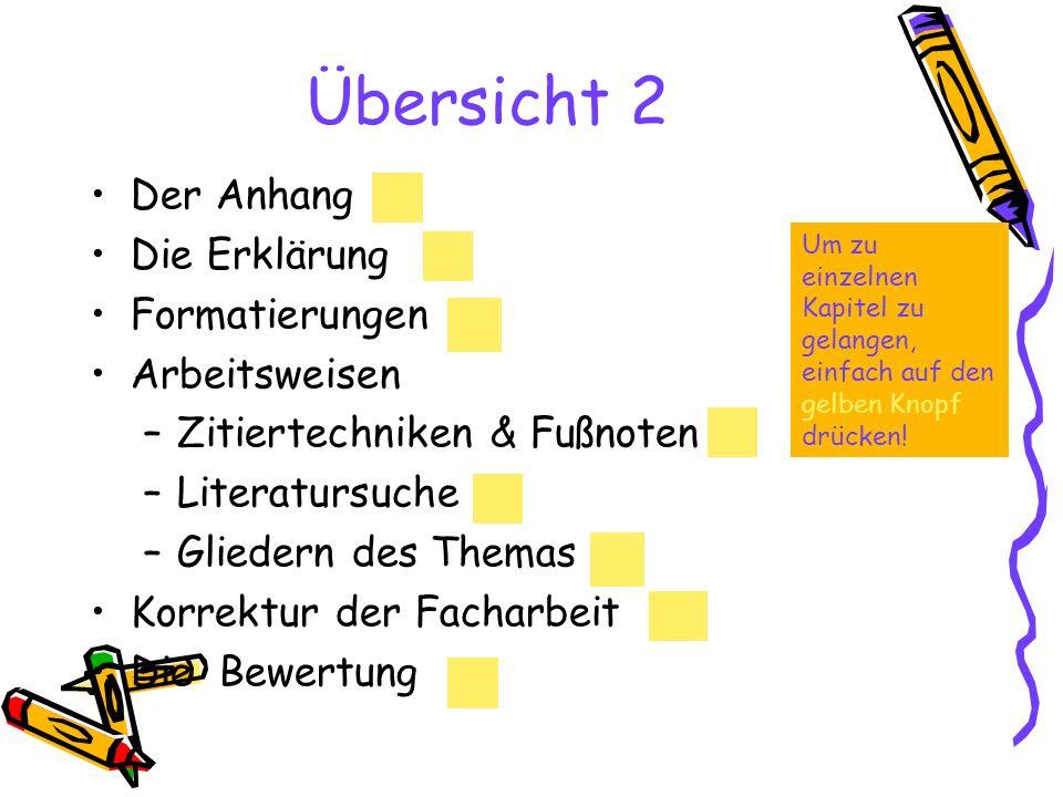 Formatierungen Folgende Vorgaben gelten für die Form deiner Arbeit Format: DIN A4, einseitig beschrieben.