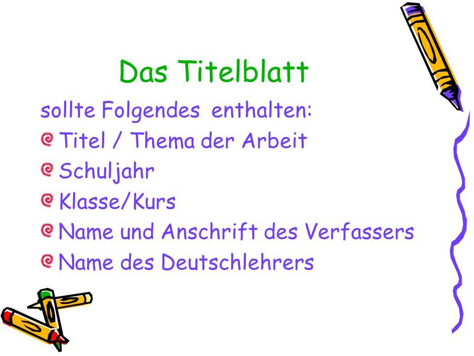 Buchtitel NAME, VORNAME: Titel.Verlag, Erscheinungsort(e) und –jahr.