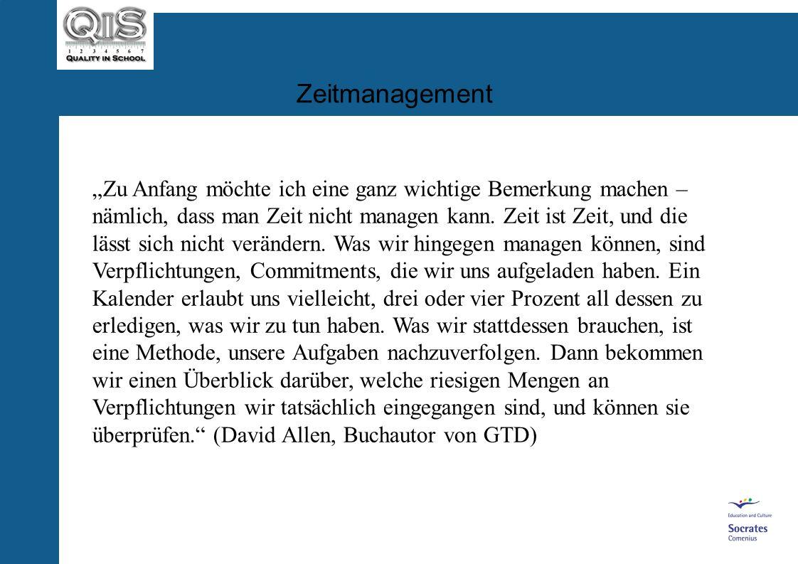 Zeitmanagement und Moderation (Zweiter Teil des QiS-Moduls Gruppenarbeit und Zeitmanagement) von Dr. A. Reinartz and H. Boitin