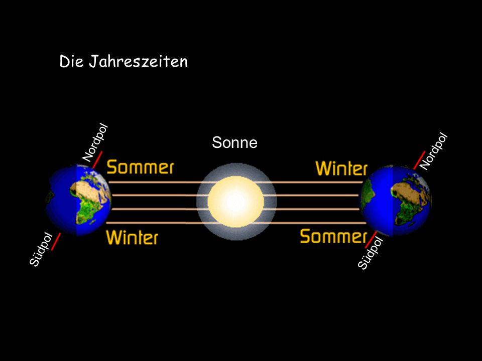 Sonne Südpol Nordpol Die Jahreszeiten