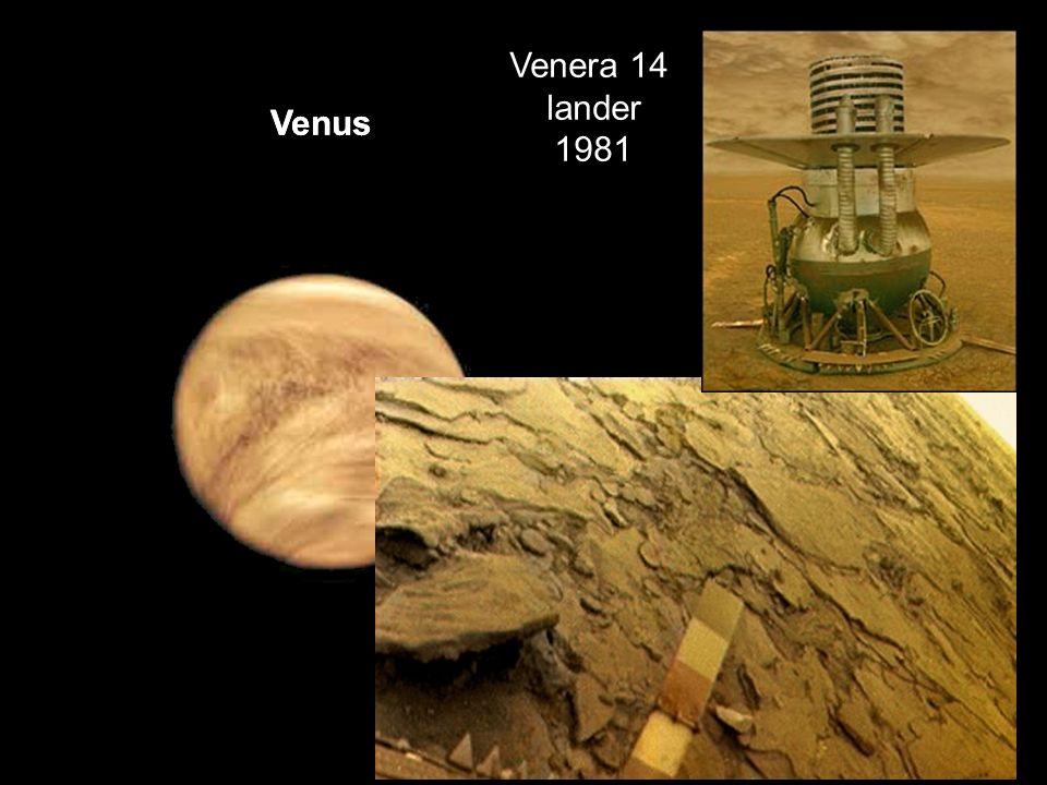 Venus Venera 14 lander 1981