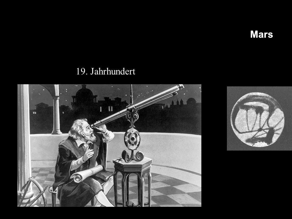 MerkurVenusErdeMarsMerkurVenusErdeMars 19. Jahrhundert