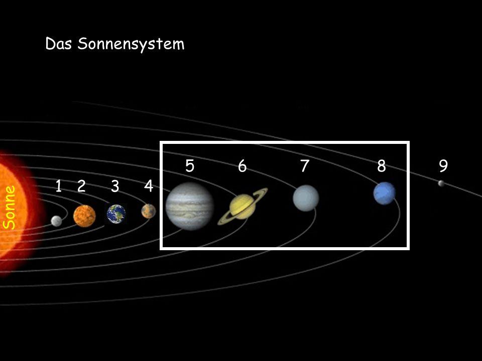 Sonne Das Sonnensystem 1 2 3 4 5 6 7 8 9