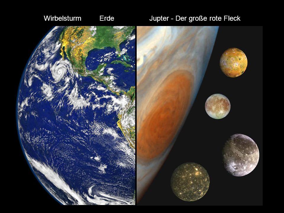 JupiterSaturn UranusNeptun Jupter - Der große rote FleckWirbelsturm Erde