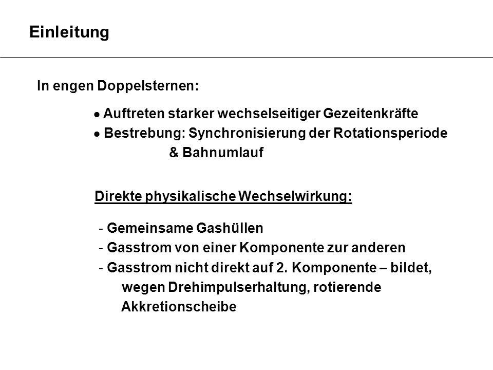 Kataklysmische Veränderliche Intermediate Polars http://astro.uni-tuebingen.de/~djkuster/phi/ps/astrotag_CV.pdf