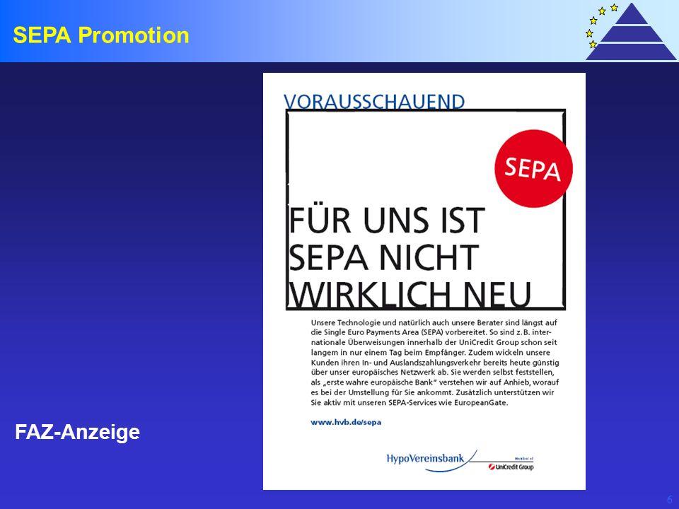 6 FAZ-Anzeige SEPA Promotion