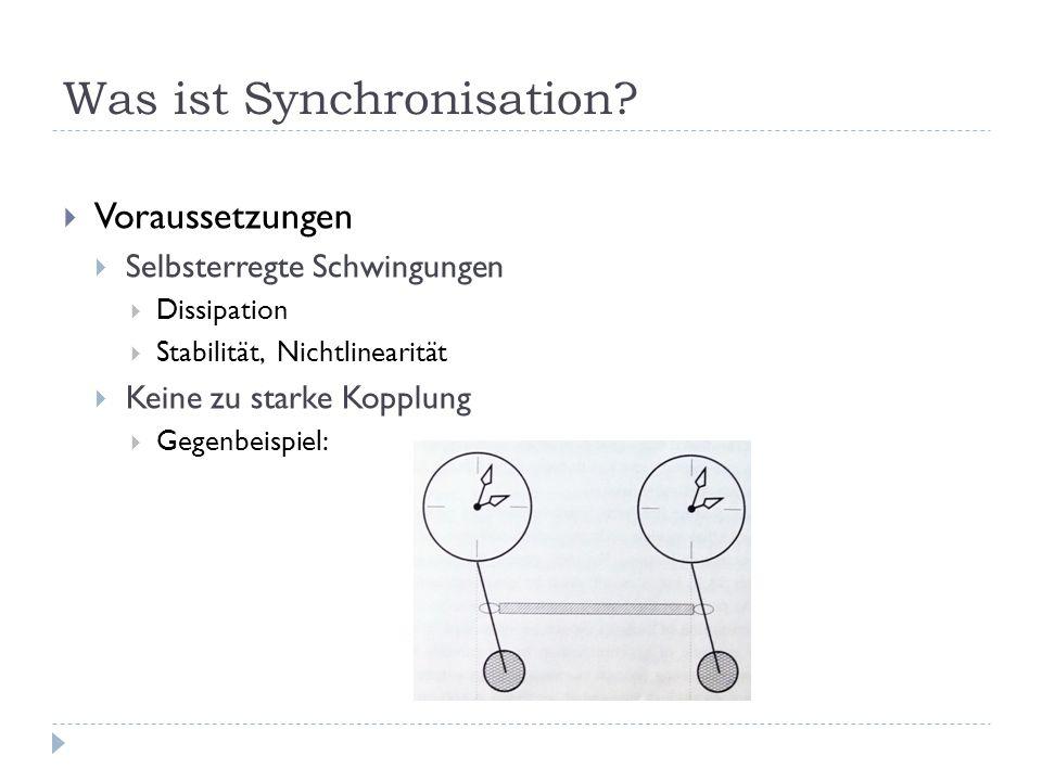 Was ist Synchronisation.