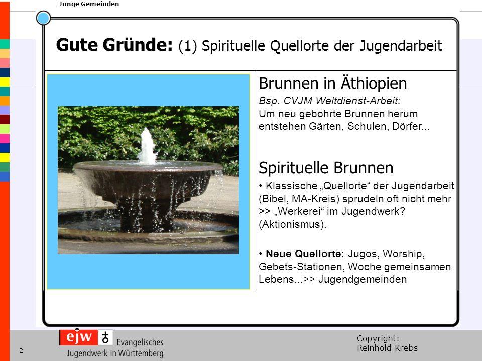 Copyright: Reinhold Krebs xxx Junge Gemeinden 2 Brunnen in Äthiopien Bsp. CVJM Weltdienst-Arbeit: Um neu gebohrte Brunnen herum entstehen Gärten, Schu